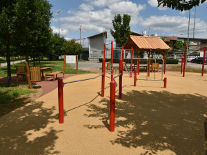 Brno vybudovalo nové workoutové hřiště pro handicapované sportovce v areálu Hněvkovského