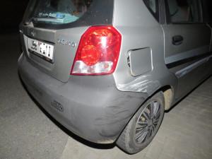 Opilá řidička v Adamově ničila zaparkovaná auta, nadýchala 2 promile