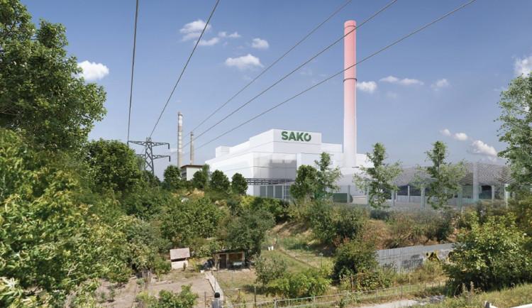 V nové spalovně chce SAKO využívat vodní páru z procesu spalování