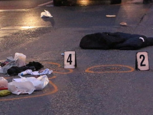 Na silnici v Brně leželo v noci mrtvé tělo. Ženu nejspíš zabilo a vláčelo nákladní auto