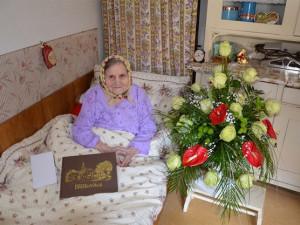 Nejstarší žena v Česku oslavila 109 let. Marie Holíková ze Znojemska se stále zajímá o světové dění