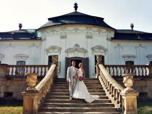 Svatba na zámku a přitom v centru Brna? Letohrádek Mitrovských nabízí prostředí jako z pohádky