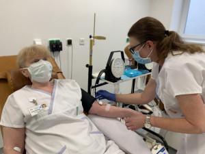 Nemocnice u svaté Anny má kritický nedostatek krve. Hledá proto dárce