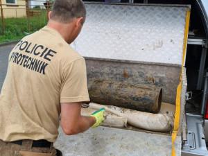 V Bosonohách musel pyrotechnik zneškodnit leteckou pumu ze druhé světové války