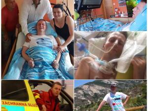 Bývalý elitní záchranář po mrtvici ochrnul od hlavy dolů, jeho rodina uspořádala veřejnou sbírku na pomoc
