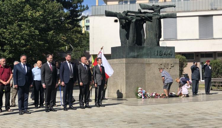 Výročí Slovenského národního povstání si připomněli i Brňané