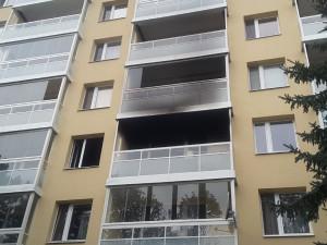 Při požáru v brněnských Bohunicích zemřela starší žena