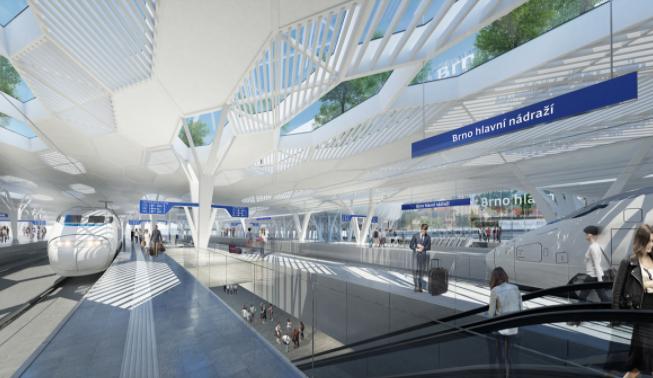 Jak bude vypadat nové vlakové nádraží? Brno spustilo veřejnou soutěž