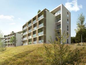 Brno postaví na Kamenném vrchu 350 bytů za 1,75 miliardy