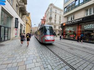 Šalin přes historické centrum možná ubude, Brno-střed sní o klidné pěší zóně