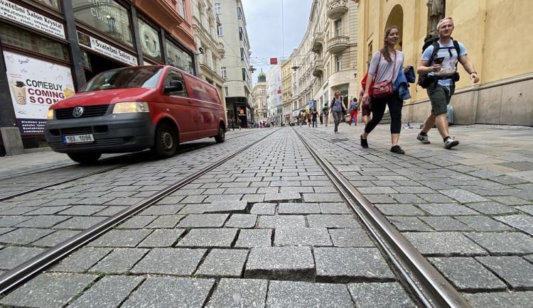 Na Masaryčce klesl počet projíždějících aut od zpřísnění pravidel o třetinu. Vjezd už nekontrolují strážníci