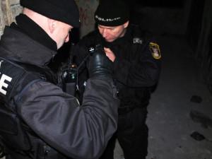 Agresivní seniorka v Brně lezla z šaliny po čtyřech, strážníky se snažila pokousat