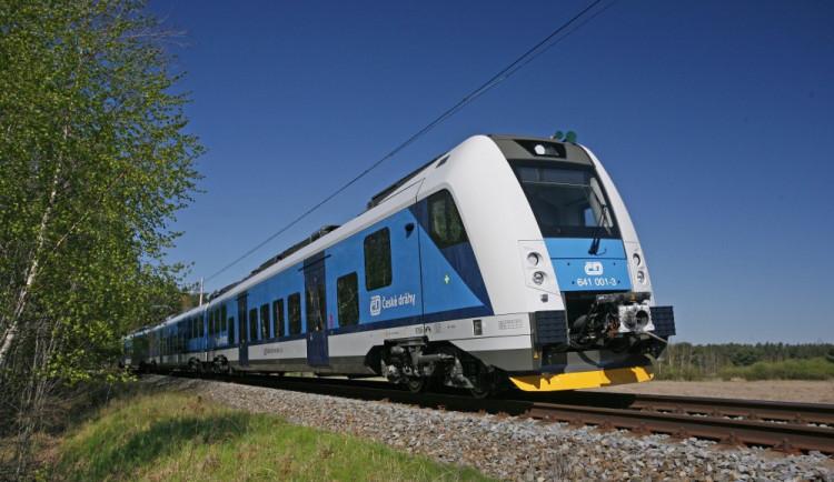 Železničáři testují modernizovanou trať Šakvice - Hustopeče za více než jeden a půl miliardy. V provozu má být od prosince