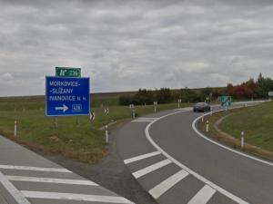 Kvůli opravě trhlin uzavře ŘSD exit dálnice D1 u Ivanovic na Hané