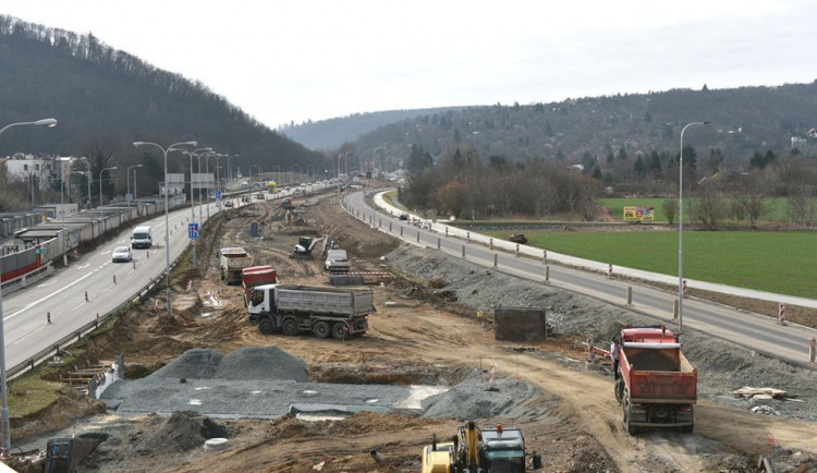 O víkendu se uzavře Žabovřeská ve směru na Svitavy. Řidiči neprojedou ani Královopolským tunelem