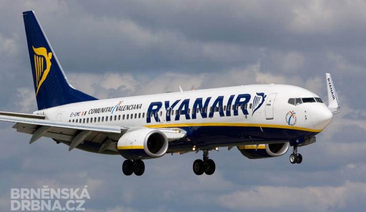 Ryanair nově přerušuje i lety z Brna do Londýna. O osudu linky do Milána se rozhodne na jaře