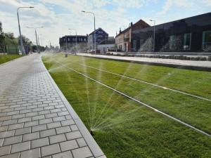 FOTO: Přeložení tramvaje na Plotní se protáhne do příštího roku. První šaliny přitom měly vyjet už na podzim