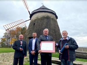 Historický mlýn v Kuželově získal Cenu Patria Nostra. Rekonstrukci dělali řemeslníci ručně jako za starých časů