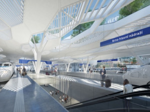 Kdo navrhne nové vlakové nádraží v Brně? O vítězný návrh se utká dvanáct týmů, většina ze zahraničí