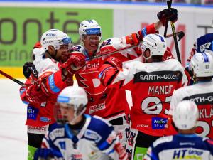 VIDEO/GÓLY: Kometa padla na ledě posledních Pardubic. Dynamo vyhrálo v aktuální sezoně vůbec poprvé