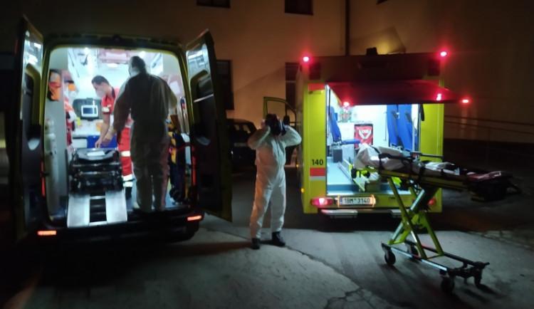Při požáru domku na Znojemsku zemřel člověk. Požár sám uhasl, mrtvého našel soused