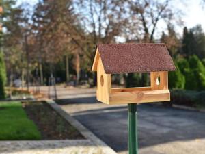 Na hřbitovech přibudou krmítka pro ptáky, pomohou jim v hnízdění a přezimování