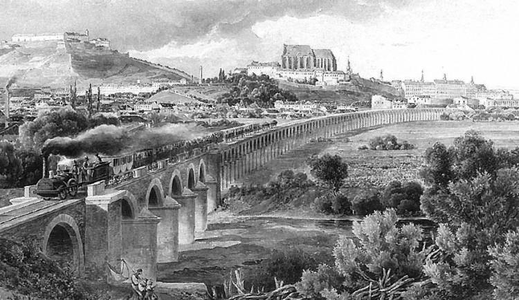 Skrytý historický unikát. Brno začal s průzkumem zakopaného viaduktu, může se proměnit na moderní promenádu