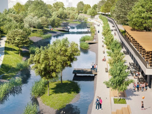 Brno bude mít konečně moderní náplavku. Město vypsalo výběrové řízení na stavbu nového nábřeží Svratky