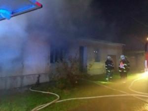 Při požáru na Znojemsku zemřel senior