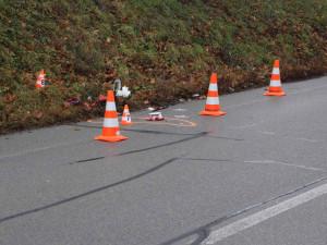 Hodinu před Vánoci srazil v Brně řidič mladého chodce, muž nehodu nepřežil