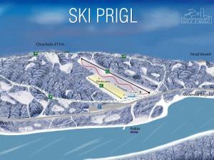 Plánovaná lyžařská sjezdovka na Prýglu budí emoce