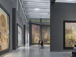 Moravský Krumlov má hotové prostory pro Slovanskou epopej. Obrazy dorazí na jaře