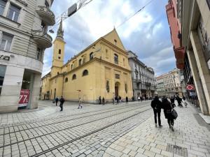 Chátrající kostel v centru Brna vyhlíží záchranu