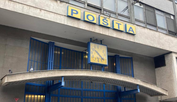 Pošta na hlavním nádraží v Brně se bude stěhovat, budova chátrá