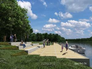 Hodonín chce největší rekreační přístav v České republice