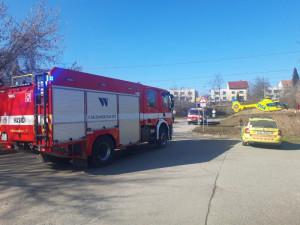 Tragická nehoda na Blanensku. Cyklista po střetu s autem na místě zemřel