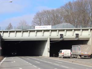 V Husovickém tunelu začalo testování úsekového měření. Zpomalte, radí řidičům dopravní aktivisté