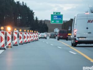 Provoz na dálnici D2 od neděle omezí opravy, potrvají do června