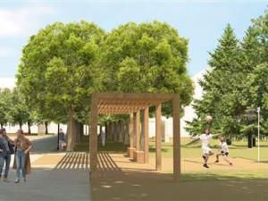 Hodonín chce do příštího roku revitalizovat park u obchodního centra Rozmarýnek