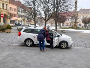 Kvůli koronaviru jezdili lidé ve Vyškově méně Senior taxi