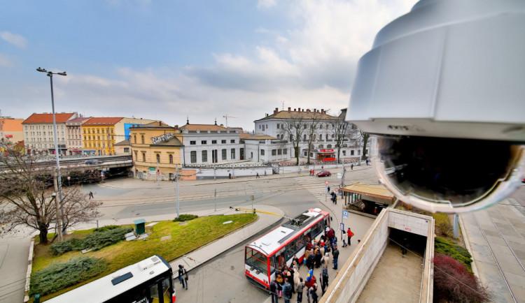 Které město si zaslouží kamerový dohled nejvíce? Jihomoravský kraj zatím bez soutěžního projektu