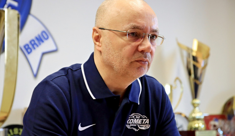 Novým hlavním trenérem Komety je Jiří Kalous