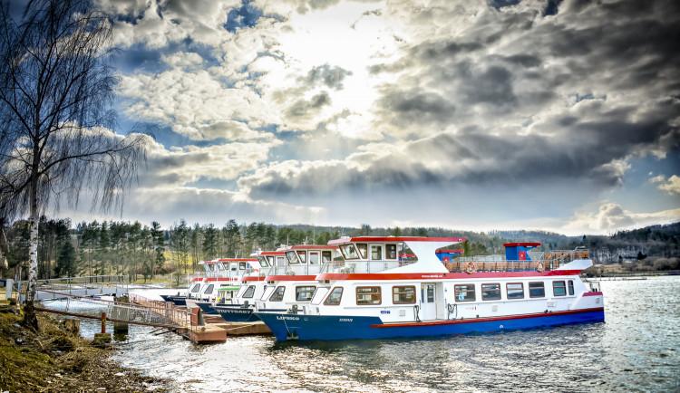 Brněnskou přehradu začnou brázdit výletní lodě, zahájí letošní plavební sezonu