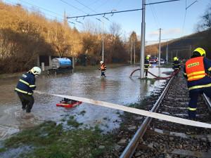 V Brně znovu prasklo potrubí. Na stejném místě jako v pátek