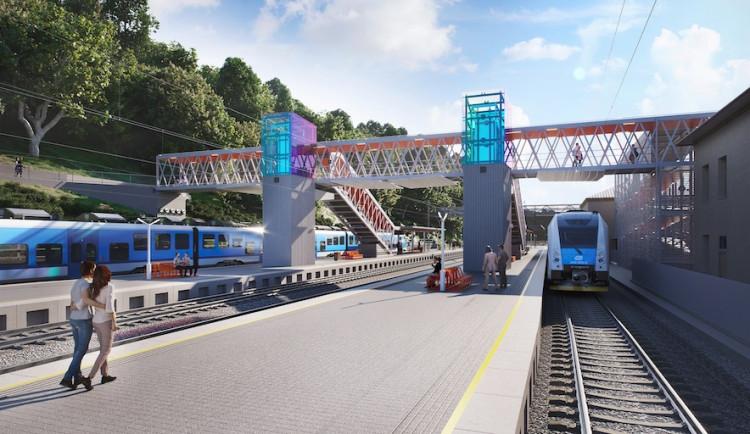 Adamovské nádraží čeká rozsáhlá rekonstrukce, která uleví i dopravě ve městě