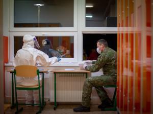 Na jižní Moravě přibylo za den 92 případů covidu, nejméně od října