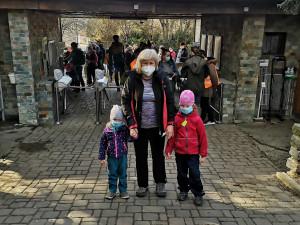 Zvířata z brněnské zoo se dočkala, na Mniší horu zamířilo přes tisíc lidí