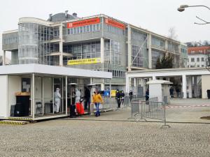 Očkovací centrum na výstavišti v Brně zvýšilo denní počet očkování na 2 tisíce