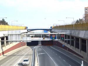 Údržba uzavře o víkendu Královopolský tunel
