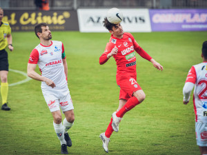 Zbrojovka nestačila doma na Pardubice a prohrála 1:2